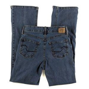 Levi's High Rise Boot Cut Jeans At Waist Short 4